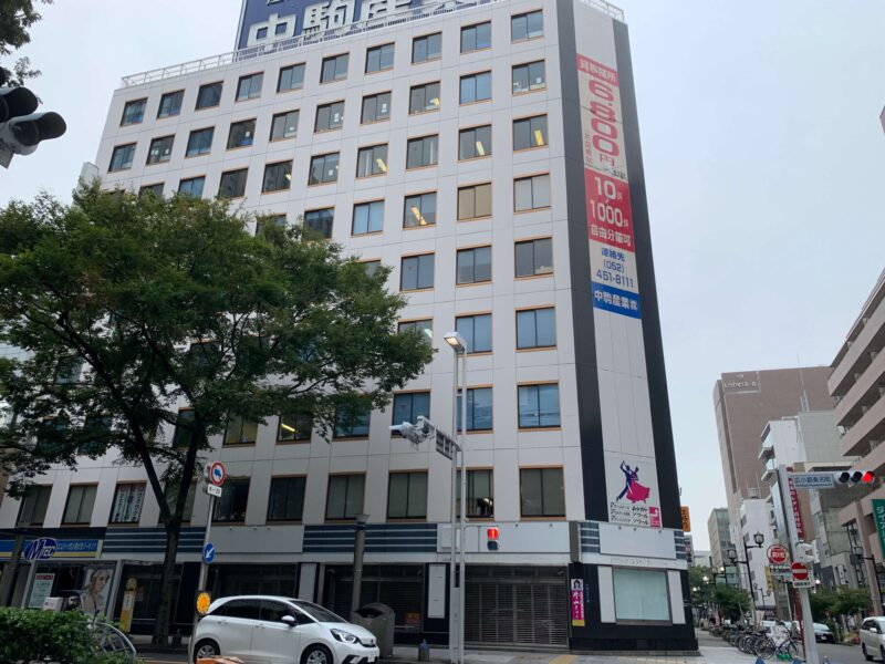 名古屋・栄店の場所
